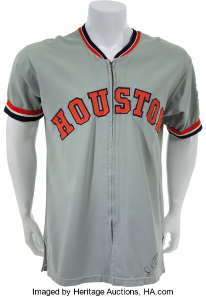 c721e27b0 ... baseball collectiblesuniforms 1972 j.r. richard game worn houston  astros jersey.