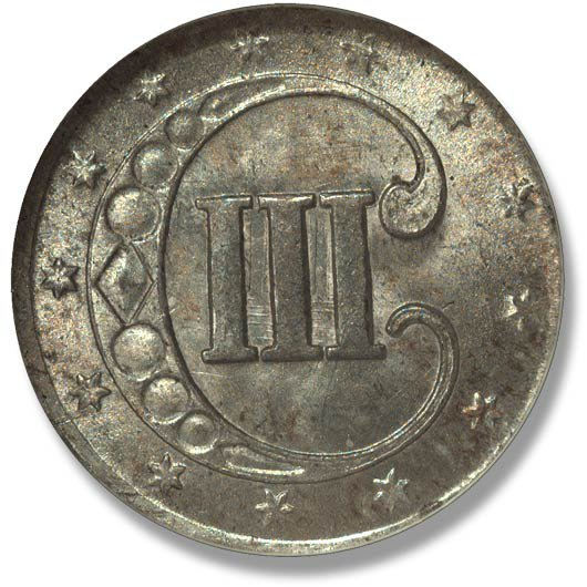 Heritage Auctions Three Cents Three Cent Piece Silver