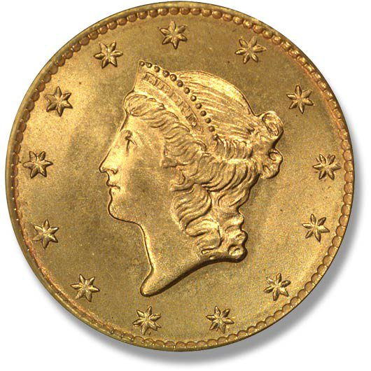 Liberty with Coronet. Small Planchet. 1849-1854