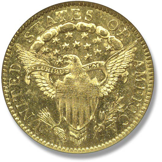 Capped Bust right. Heraldic Eagle. 1797-1804