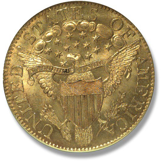 Capped Bust right. Heraldic Eagle. 1798-1807