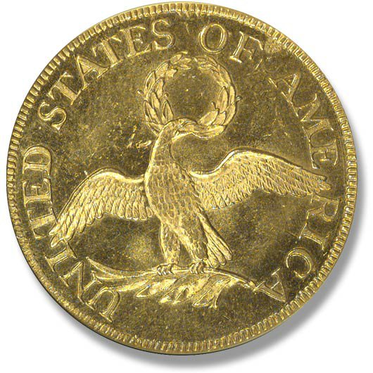 Capped Bust right. Small Eagle. 1795-1798