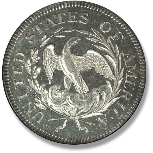 Draped Bust. Small Eagle. 1796