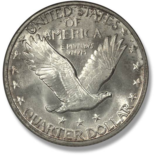 Heritage Auctions Quarters Liberty Standing Stars