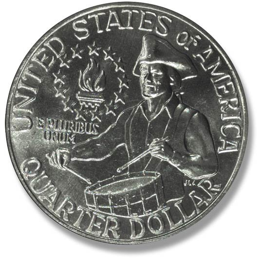 Washington. Bicentennial reverse. 1976