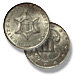 Three Cent Piece. Silver. No outlines to star. 1851-1853