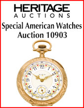 Catalog cover for Special American Watches