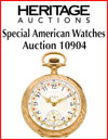 2019 February 25 Special American Watches, Part III Timepieces Signature Auction - Dallas