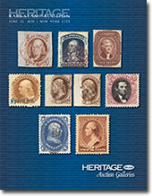 Catalog cover for 2010 June Signature Stamp Auction