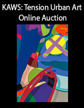 Catalog cover for 2020 July 22 KAWS: Tension Urban Art Online Auction