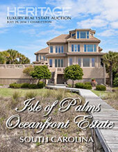 Catalog cover for 2014 July 29 Luxury Real Estate Signature Auction - Charleston