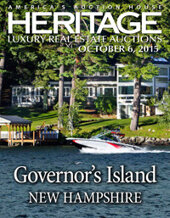 Catalog cover for 2015 October 6 New Hampshire Real Estate Signature Auction - New York