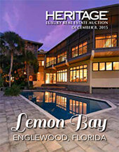 Catalog cover for 2015 November 19 Real Estate Signature Auction - FL
