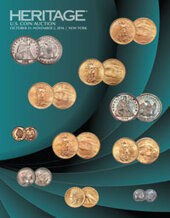 Catalog cover for 2016 October 31 - November 2 US Coins Signature Auction - New York