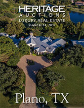 Catalog cover for 2017 March 14 Plano, TX Real Estate Signature Auction - Dallas
