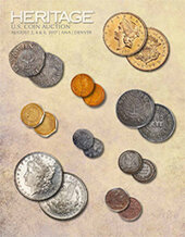 Catalog cover for 2017 July 31 - August 7 ANA US Coins Signature Auction - Denver