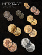 Catalog cover for 2017 November 2 - 4 US Coins Signature Auction - Dallas
