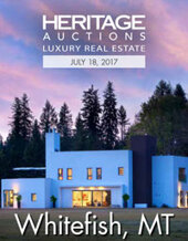 Catalog cover for 2017 July 18 Whitefish, MT Real Estate Signature Auction