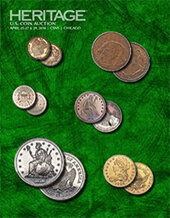 Catalog cover for 2018 April 25 - 29 CSNS US Coins Signature Auction - Chicago
