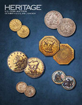 Catalog cover for 2018 October 11 - 14 US Coins Signature Auction - Chicago