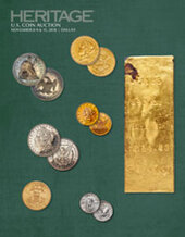 Catalog cover for 2018 November 8 - 11 US Coins Signature Auction - Dallas