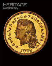 Catalog cover for 2019 March 14 - 16 US Coins Signature Auction