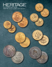 Catalog cover for 2020 February 20 - 23 Long Beach Expo US Coins Signature Auction - Long Beach