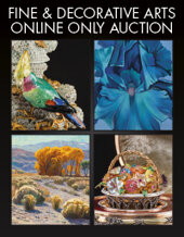 Catalog cover for 2020 January 9 Fine & Decorative Arts Monthly Online Auction