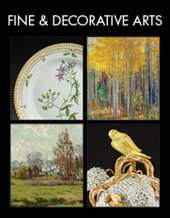 Catalog cover for 2020 March 12 Fine & Decorative Arts Monthly Online Auction