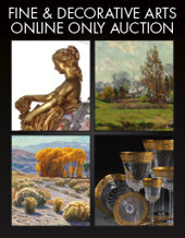 Catalog cover for 2020 August 13 Fine & Decorative Arts Monthly Online Auction