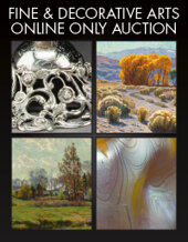 Catalog cover for 2020 September 10 Fine & Decorative Arts Monthly Online Auction