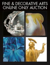 Catalog cover for 2020 October 8 Fine & Decorative Arts Monthly Online Auction