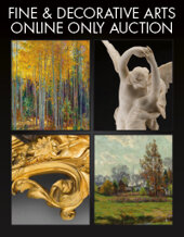 Catalog cover for 2020 November 12 Fine & Decorative Arts Monthly Online Auction