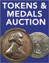 Catalog cover for 2017 September 25 Virgil Brand Collection. U.S. and World Tokens and Medals US Coins Signature Auction - Dallas