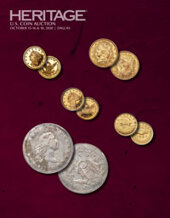 Catalog cover for 2020 October 15 - 18 US Coins Signature Auction