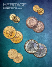Catalog cover for 2020 November 19 - 22 US Coins Signature Auction