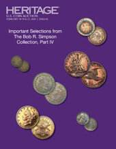 Catalog cover for 2021 February 18 - 21 US Coins Signature Auction