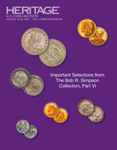 Catalog cover for 2021 August 18 - 22 ANA WFOM US Coins Signature Auction