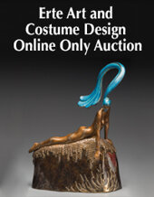 Catalog cover for 2020 February 12 Erte Costume & Design Online Auction