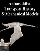Catalog cover for 2021 May 25 Automobilia, Transport History and Mechanical Models Special Online Auction
