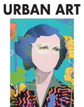 Catalog cover for 2021 March 3 Urban Art Monthly Online Auction featuring the Behnam Collection