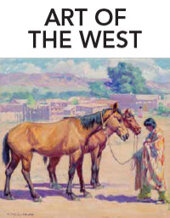 Catalog cover for 2020 August 21 Art of the West Month-long Online Auction
