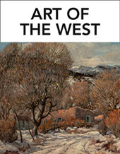 Catalog cover for 2020 December 1 Art of the West Special Online Auction