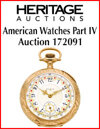 American Watches Part IV Online Only Auction