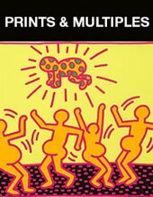 Catalog cover for 2021 January 20 Prints & Multiples Monthly Online Auction