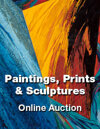 Online Paintings, Prints & Sculptures Auction