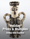 2017 December 12 Holiday Online Prints & Multiples Auction