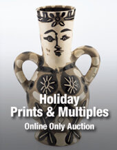 Catalog cover for 2017 December 12 Holiday Online Prints & Multiples Auction