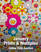 Catalog cover for 2018 January 30 Online Prints & Multiples Auction