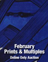 Catalog cover for 2018 February 27 Online Prints & Multiples Auction